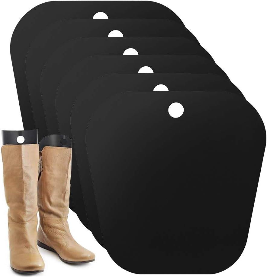 8pcs32 cm Stiefelspanner,8 St/ück Boot Shaper,wiederverwendbare Stiefelhalterungen,Stiefel Aufrecht zu Halten und Ein Durchh/ängen Stiefel und Falten zu Verhindern