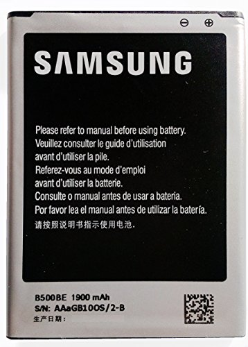 Samsung B500BE - Batteria Sostitutiva per Samsung Galaxy S4 Mini GT-I9190 / I9195 (Non Adatta a Galaxy S4 I9500)