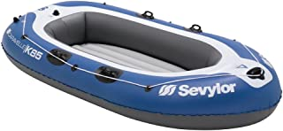 Sevylor Caravelle 2 + 1 Person Inflatable Boat -Blue/White