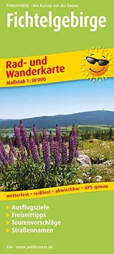 Fichtelgebirge: Rad- und Wanderkarte mit Ausflugszielen, Einkehr- & Freizeittipps, wetterfest, reissfest, abwischbar, GPS-genau. 1:50000 (Rad- und Wanderkarte / RuWK)