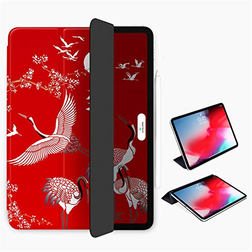 Case for Ipad Pro 11 Inch 2018/2020,Ultra Slim Smart Magnetic Back,Trifold Stand Protective Cover [Supports Apple Pencil Pairing & Charging] Auto Wake/Sleep,B,ipad pro11/2020