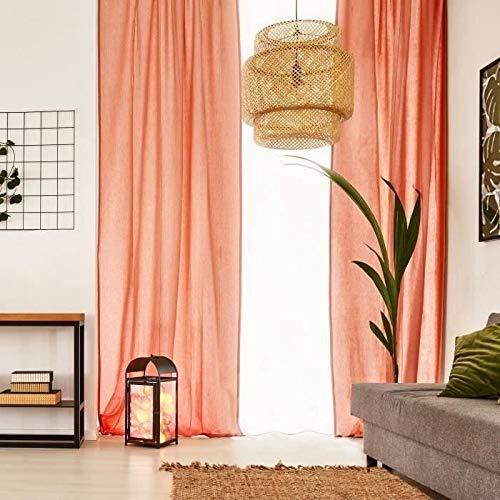 Tenda con Passanti, 250 x 110 cm United United Colore: Arancione Stile: