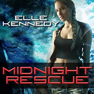 Midnight Rescue audiobook cover art