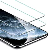 BESTCASESKIN [2-Pack Protector Pantalla Samsung Galaxy J7 Duo 2018, Cristal Templado [Cristal + Resina] Vidrio Templado con [3D Borde Redondo] [9H Dureza] [Alta Definicion]