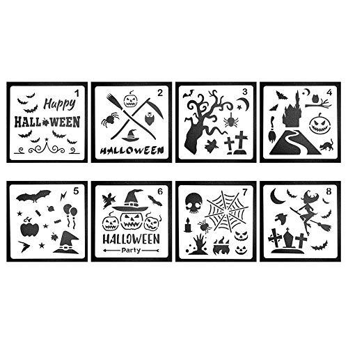 Aolvo Stencil Christmas Modello pittura per album stencil tattoo Per Disegno Scrittura e La Pittura Drawing Painting Template Sets DIY Albums Accessories