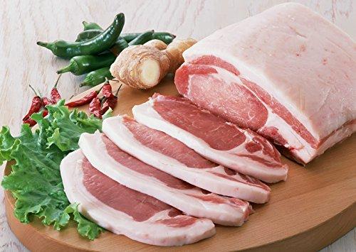 生産地直送 鹿児島 黒豚 下ロース とんかつ用 ステーキ用 100g×4 豚肉 豚肉
