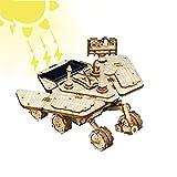 FXQIN Juegos Educativos Energía Solar Kit de Coche con energía Solar Car Madera Maquetas para Construir Maquetas para Montar Set de Construcción Puzzle 3D para niños y Adultos