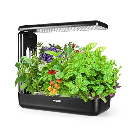VegeBox 12 Pods Hydroponic Growing System, Indoor...