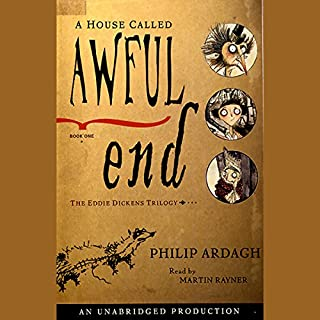 A House Called Awful End audiobook cover art