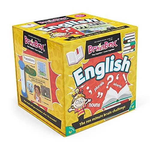 The Green Board Game Co. G0990045 Brainbox Inglés vídeo Juego
