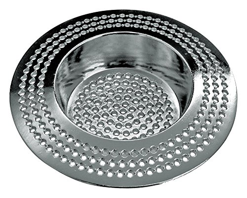 Colador de pelo HomeXpert para ducha, colador de pelo, hierro fundido galvanizado y refinado, diámetro de 70 mm