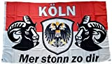 UB Fahne/Flagge Köln Mer stonn zu dir 90 cm x 150 cm Neuware!!!