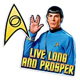 Popfunk Star Trek Spock Live Long and Prosper Collectible Stickers