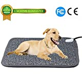 Ubei Pet Electric Heating Pad for Dog and Cat Adjustable Waterproof Anti-bite Steel