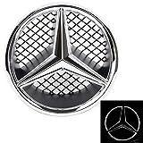 Emblema LED Benz 2006-2013 Auto Griglia Anteriore STELLA ILLUMINATA Classe C W204 2008-2013 GLK X204 2006-2012 B W245 2005-2010
