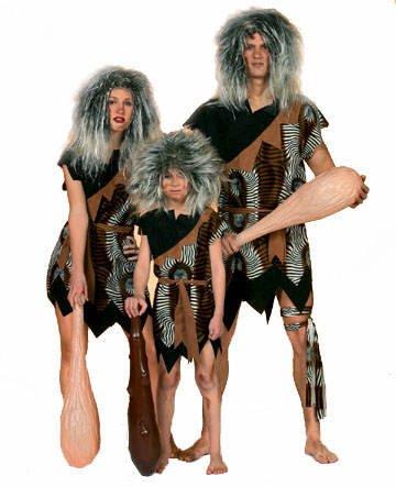 Herren-Kostüm Neandertaler, Gr. 50-52 PREISHIT