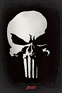 The Punisher - Netflix TV Show Poster/Print (Logo/Skull) (Size: 24 inches x 36 inches)