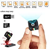 Mini Spy Camera Hidden Camera with 32G SD Card 1080P Wireless Spy Cop Cam Seen on TV Portable Small Covert Home Nanny...