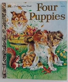Four Puppies (A Little Golden Book)