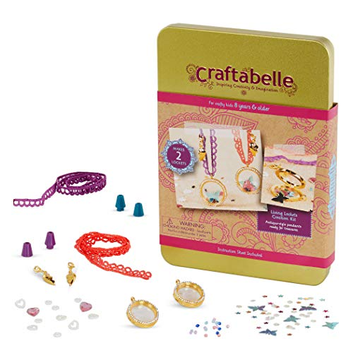 Craftabelle Living Lockets Creation Kit – 85pc Necklace Set Now $5.38 (Was $11.49)