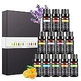 Aceites Esenciales para Humidificador, Set de Aceites de Aromaterapia Aromático...