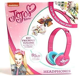 Indoor Toys JU Toy Kids (Bonus LJIF Ollie The Unicorn Pen) JoJo Siwa Clip Your Own Bow Kid Friendly Headphones