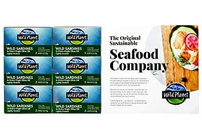Wild Planet Wild Sardines, 6