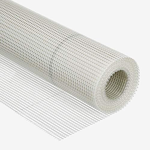 6 rollen wapeningsweefsel 145 g/m2 stof 33 cm x 50 m poetsweefsel pleisterwerk