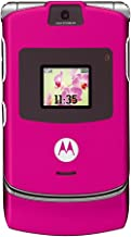Motorola RAZR V3 Pink T-Mobile Cell Phone Ready For Activation