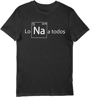 Camiseta Lo NA a todos químico divertido tabla periódica elementos