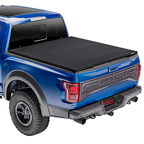 extang Trifecta Toolbox 2.0 Soft Folding Truck Bed Tonneau Cover | 93480 | Fits 2015 - 2020 Ford F-150 6' 7' Bed (78.9')