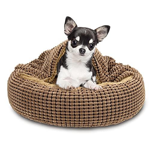 FURTIME Cozy Cuddler Dog Bed