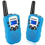 Wishouse Kids Walkie Talkies, PMR446MHz Easy to Use Walky Talky for Boys