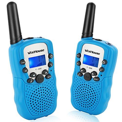 Wishouse Kids Walkie Talkies, PMR446MHz Easy to Use...