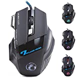 Zoweetek Professional Wired Gaming Mouse X7 Button 5500 DPI LED Optical USB Wired Computer Mouse Mice Cable Mouse