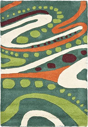Safavieh Soho Collection SOH856A - Alfombra de lana (hecha a mano, 2 x 3 pies)