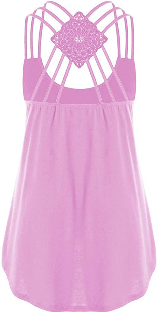 AODONG Tank Tops for Women, Womens Summer Casual Sleeveless Graphic Loose Fit Tank Vest Tops Shirts Blouses Tunics