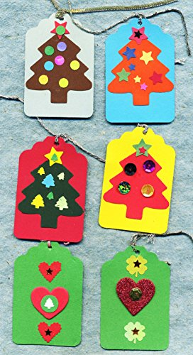 Punch Art Gift tags! OOAK,,fun and colorful,,handmade tags!