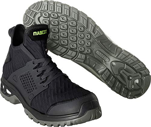 Mascot Sicherheitsschuh S1P Arbeitsschuhe F0133-996 - Footwear Energy Herren 45 EU Schwarz