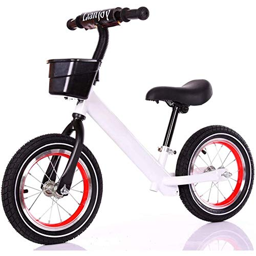 Best Price WHTBB 12 Inch Balance Bikes Lightweight High-Carbon Steel Inflatable Wheel High Seismic P...