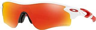 Men's OO9206 Radarlock Path Asian Fit Wrap Sunglasses
