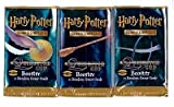 Harry Potter Card Game Quidditch Cup Lot of 3 Booster Packs