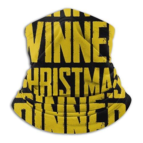 WINNER Christmas Dinner PlayerUnknown Battlegrounds Fahrrad Bandanas für Staub, Outdoor, Festivals, Sport, Radfahren