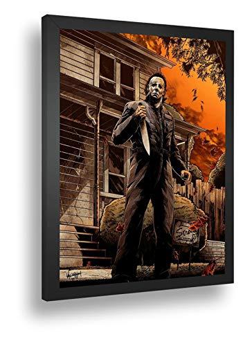 Quadro Decorativo Poster Jack Estripador Personagem