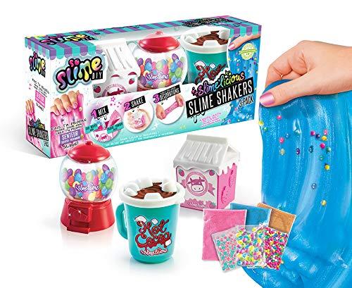 SO SLIME SSC 076 So DIY - Pack de 3 slimes parfumées senteur à fabriquer lait, glace, chocolat Slimelicious