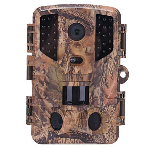 Yarnow Trail Camera Game Camera Nachtzicht Jachtcamera Wildlife Monitoring Cam Scouting Camera Voor Bewaking Buitenshuis (Zonder Batterij)
