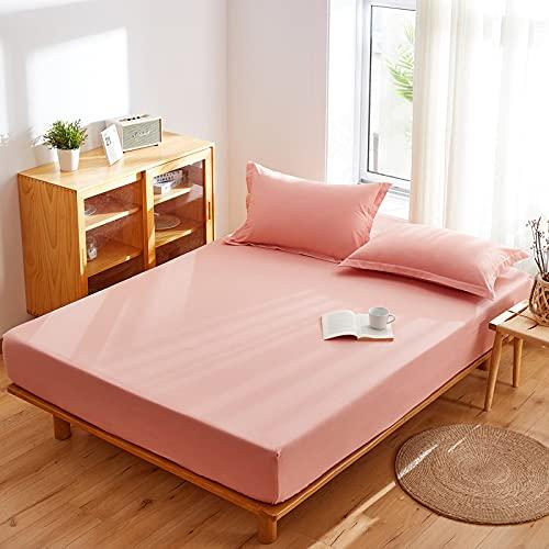 Haiba - Sábana bajera elástica para cama individual, 120 x 200 cm + 15 cm