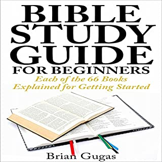 Bible Study Guide for Beginners audiobook cover art
