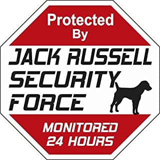 Animal Den Jack Russell Security Force Sign