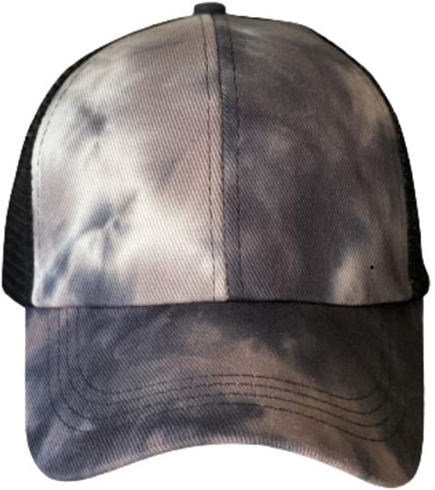 Criss Cross Ponytail Hat Washed Distressed Mesh Womens Baseball Cap Dad Hat Ponytail Hat for Women